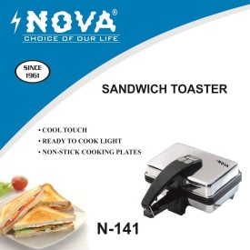 Nova N141 500W Pop Up Toaster
