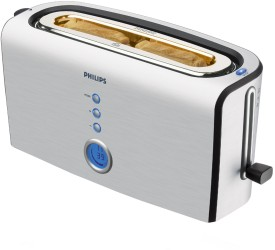 Philips Aluminum HD2618 Pop Up Toaster