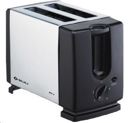 Bajaj ATX 3 Auto Pop 2 Slices SS Pop Up Toaster