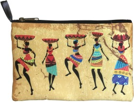 Lushomes Tribal (Yellow) Pouch