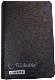 Reliable Leather 10600mAh Power Bank