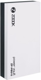 Zoook ZP-PBS15 Powervault 15000mAh Dual-Port Power Bank