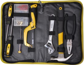Stanley Basic Hand Tool Kit (8 Pcs, With Bag)