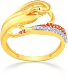 Malabar Gold and Diamonds MHAAAAABQVIQ 22kt Cubic Zirconia Yellow Gold ring