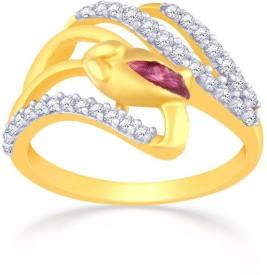 Malabar Gold and Diamonds MHAAAAABQVLB 22kt Cubic Zirconia Yellow Gold ring
