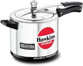 Hawkins Hevibase IH65 Aluminium 6.5 L Pressure Cooker (Inner Lid)