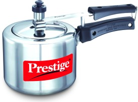 Nakshatra Plus Aluminium 3 L Pressure Cooker (Induction Bootom, Inner Lid)