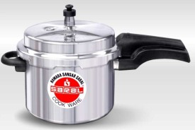 Saral FS00000309 Aluminium 3 L Pressure Cooker (Induction Bottom,Outer Lid)