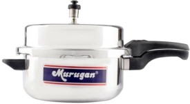 Murugan Deluxe Aluminium 7.5 L Pressure Cooker (Outer Lid)
