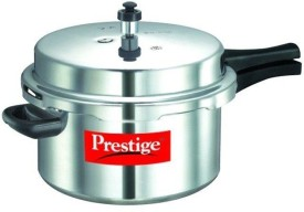 Popular Plus Aluminium 10 L Pressure Cooker (Induction Bottom, Outer Lid)