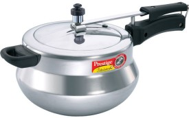 Prestige 11653 Aluminium 5 L Pressure Cooker (Induction Bottom,Inner Lid)