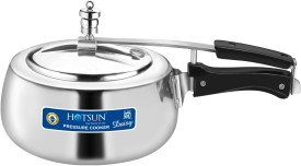 Aluminium 3.5 L Pressure Cooker (Induction Bottom,Inner Lid)