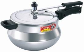 Prestige 11520 Aluminium 5 L Pressure Cooker (Inner Lid)