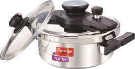 Prestige 25643 Stainless Steel 3 L Pressure Cooker (Induction Bottom,Outer Lid)