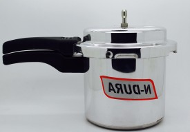 Ndura IND 3 Aluminium 3 L Pressure Cooker (Induction Bottom,Outer Lid)