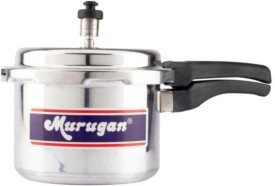 Murugan Deluxe Aluminium 3 L Pressure Cooker (Outer Lid)