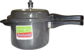 Aluminium 5.5 L Pressure Cooker (Outer Lid)