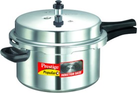 Prestige 10207 Aluminium 7.5 L Pressure Cooker (Induction Bottom,Outer Lid)
