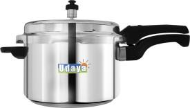 Udaya PC5 Aluminium 5 L Pressure Cooker (Outer Lid)