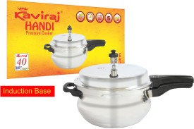 Kaviraj Kfhib03 Aluminium 3 L Pressure Cooker (Induction Bottom,Outer Lid)