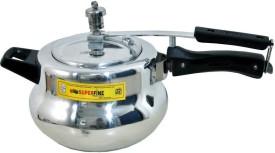 Deluxe Aluminium 3 L Pressure Cooker (Inner Lid)
