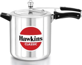 Hawkins Classic CL8T Aluminium 8 L Pressure Cooker (Inner Lid)