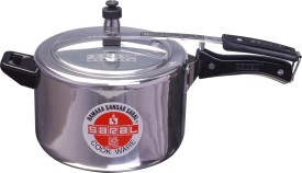 Saral FS00000292 Aluminium 2 L Pressure Cooker (Induction Bottom,Inner Lid)