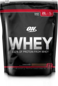 Optimum Nutrition Whey Whey Protein(840 g, Chocolate)