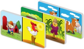 The Learning Journey Match It! Farm Dominoes