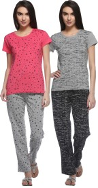 69GAL Women's Pyjama(Pack of 2)