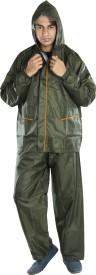 Newera Galaxy Reverseable Impenetrable Moisture Barrier Solid Men's Raincoat