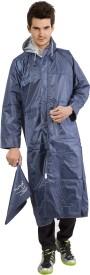Lotus Stylish Featherweight Solid Men's Raincoat