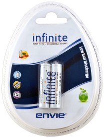 Envie AAA 600 2PL Infinite Rechargeable Battery