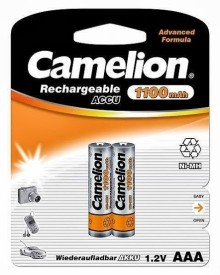 Camelion NH-AAA1100BC2 1100mAh Ni-Mh (Pack..