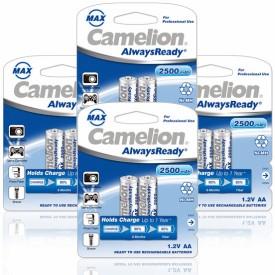 Camelion NH-AA2500ARBP2 2500mAh Ni-Mh (Pack..