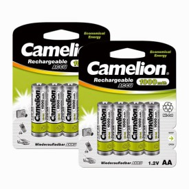 Camelion NC-AA1000BP4 1000mAh Ni-Cd (Pack..