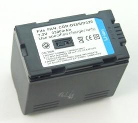 PowerPak CGR-D28S/D320 3300mAh Li-ion Recharg..