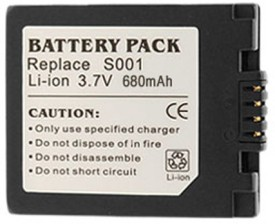 Digitek S001 680mAh Rechargeable Li-ion Battery (For Panasonic)