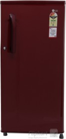LG GL-B191KRLQ 188 Litres 3S Single Door Refrigerator (Ruby Luster)