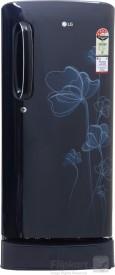 LG GL-D201AMHL/ASHL/AGHL 190 Litres 4S Single Door Refrigerator (Heart)