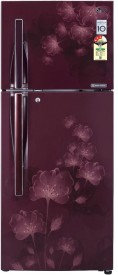 LG GL-D322JSFL/MFL/GFL/PFL 310 Litres 4S Double Door Refrigerator (Florid)