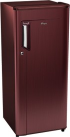 Whirlpool 200 IM Powercool PRM 3S 185 L Single Door Refrigerator (Wine Titanium)