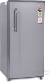 LG GL- B205KGSL 190 Litres 4S Single Door Refrigerator (Grephite Steel)
