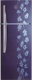 Godrej RT EON 261 P 3.4 261L 3S Double Door Refrigerator (Denim Petals)