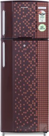 Kelvinator KA242PMX 235 L 2S Double Door Refrigerator (Pixel)