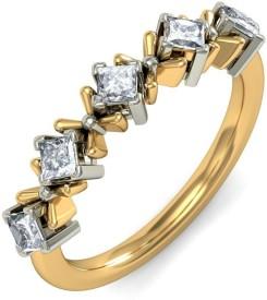BlueStone Simply Chic Gold Diamond 18 K Ring