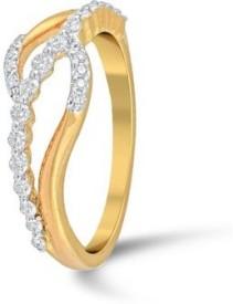 VelvetCase Modish Diamond Ring Gold Ring