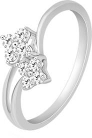 VelvetCase 950 Platinum Casual Rings in 3.01 gms Platinum Ring