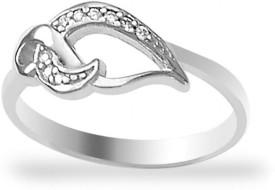 Taraash Beautiful Sterling Silver Cubic Zirconia Ring