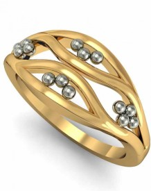 Rasav Jewels 18kt Yellow Gold ring